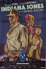 INDIANA JONES AND THE TEMPLE OF DOOM Limited edition signed print R2017 DURIEUX