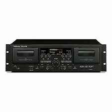 TASCAM 202mlvii Dual Cassette Deck With USB Output