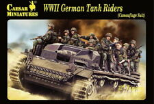 Caesar Miniatures H099 - WWII German tank riders (camouflage suit) - 1:72
