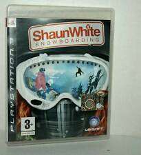 SHAUN WHITE SNOWBOARDING USATO BUONO SONY PS3 EDIZIONE ITALIANA PAL ML3 44366