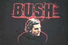 Xl * Nos vtg 90s Bush band t shirt * W32 * Gavin Rossdale