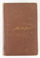 Autobiography and Personal Recollections by John B. Gough 1869 1st Edition Illus