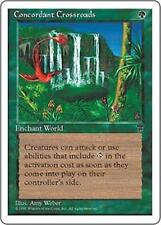 CONCORDANT CROSSROADS Chronicles MTG Green World Enchantment RARE