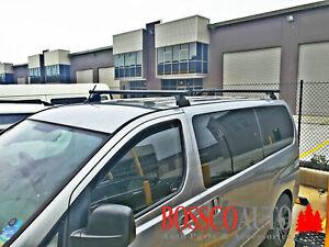 Black Heavy Duty Roof Racks suitable for Hyundai iLoad 2007-2018
