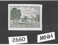 FAKE!    MNH Germany stamp / Theresienstadt Ghetto / 1943 Third Reich Occupation