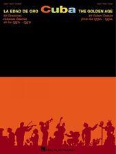 Cuba Sheet Music La Edad De Oro The Golden Age Piano Vocal Guitar Song 000310695