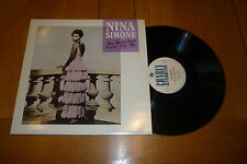 "NINA SIMONE - My Baby Just Cares For Me - 1987 UK 3-track 12"" vinyl single"