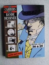 CAHIERS DE LA BANDE DESSINEE recueil des numéros 56 57 58 59 Juillard Franc Aucl