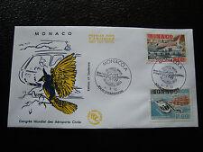 MONACO - envelope 1st day 4/9/1990 (cy31)