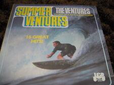 """THE VENTURES    """"Summer Ventures""""   Rare Amcos 33rpm Vinyl"""