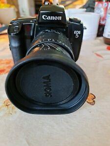 Canon Eos 5 mit Sigma Objektiv