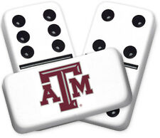 University Series Texas A&M Design Double six Professional size Dominoes