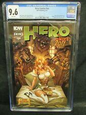 Hero Comics #nn (2011) IDW J. Scott Campbell Cover CGC 9.6 White Pages CZ252