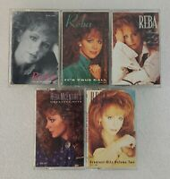 Reba McEntire Country Music Cassette Tape lot of 5 tapes