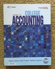 College Accounting (Ch 1-12)(W/CD) 5th (2001, Hardcover)