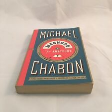 Manhood for Amateurs by Michael Chabon Large Paperback (E44)