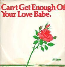 """Big Tony Can't get enough.. (#zyx5103) [Maxi 12""""]"""