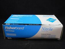 FISHERBRAND Powder-Free Textured Nitrile Examination Gloves X-Small (Box of 100)