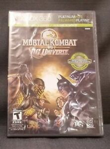 Mortal Kombat vs. DC Universe (Microsoft Xbox 360, 2008) Video Game