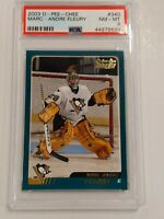 2003 2003-04 O-Pee-Chee #340 Marc-Andre Fleury Rookie Pittsburgh Penguins