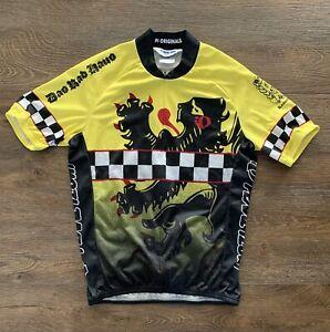 """Pearl Izumi Originals Cycling Jersey 3/4 Zip Men's SMALL """"Das Rad Haus"""""""