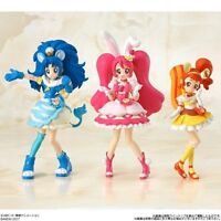 NEW Bandai Pretty Cure Alamode Cutie Figure 3 Sets Candy Toy from Japan F/S