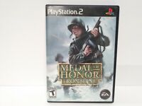MEDAL OF HONOR FRONTLINE Playstation 2 PS2 Complete CIB w/ Box, Manual Free S&H