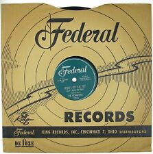 MIDNIGHTERS Henry's Got Flat Feet/Whatsonever You Do 10IN 1955 R&B NM- LISTEN!!!