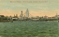 BROOKLYN NY – Coney Island Dreamland Waterfront Water Front - 1912