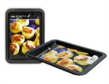Non-Stick Oblong Baking Tray Carbon Steel Black 33cmx23cmx2cm Great Value!