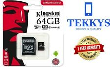 Kingston Micro SD 64 Go Carte mémoire SDHC Classe 10