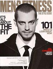 MEN'S FITNESS MAGAZINE March 2014 JOEL KINNAMAN ~ 101 Ways To Look Great E-2-3