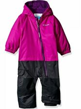 New with tags Columbia 6-12 months purple black snow suit  msrp: $120