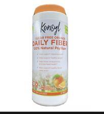 Konsyl Orange Flavor Psyllium Fiber (Sugar Free) Laxative Exp. 6/2022