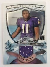 2007 Bowman Sterling - Rookie Relic Jersey #BSRR-TS - TROY SMITH - Ravens RC