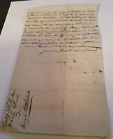 1821 Handwritten Deed Charles Sally Ann Davis Marble town NY Josiah Sutherland