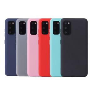 Soft Matte TPU Silicone Phone Case Cover For Samsung S7/S9/S10/S20/S21 Edge Plus