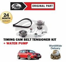 FOR Volkswagen VW GOLF V 5 EOS 2.0 TFSI 2004-> TIMING CAM BELT KIT + WATER PUMP