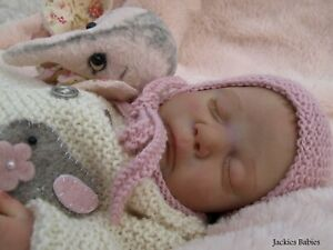 Jackies Babies~Reborn baby girl~Neveah~Cassie Brace sold out ltd edition