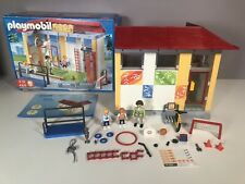 Playmobil School Gym Add On Rare Discontinued Set 4325 Boxed
