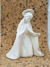 "+ww Hummel Goebel Figur 260/A Jumbo Krippe Madonna ""Mutter Maria"" 24,5cm Weiß"