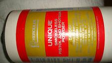New listing Vintage Hercules Unique Smokeless Pistol Powder 4# lb. Cardboard Can, Empty