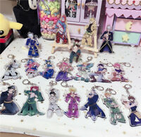 JOJO's Bizarre Adventure Golden Wind Cosplay Keychain Pendant Gifts Ornaments