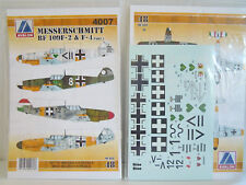 Bf-109 f-2 & f-4 part 1, Avalon, 1:48, Décalque, Neuf