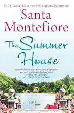 SANTA MONTEFIORE ___ THE SUMMER HOUSE __ SHOP SOILED HARD BACK __ FREEPOST UK