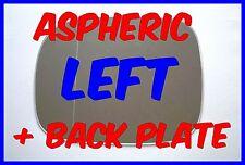 VAUXHALL FRONTERA 1998-2004 LEFT H/S DOOR MIRROR GLASS ASPHERIC  BACK PLATE