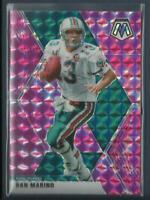 Dan Marino 2020 Panini Mosaic PINK CAMO PRIZMS Card # 123 Miami Dolphins NFL HOF