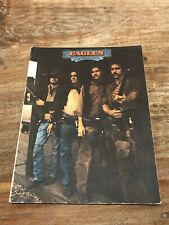 Official Eagles Desperado Vintage Sheet Music Book Rock 1973 Classic Warner Bros