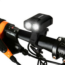 High Lumen Bike Front Light Electric Rechargeable Bicycle 2 LED Light With USB