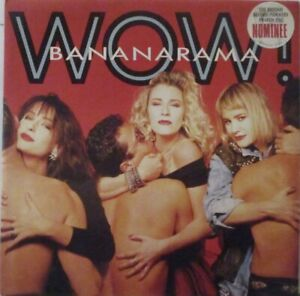 "BANANARAMA - Wow ~ GATEFOLD VINYL LP + 12"" Single"
